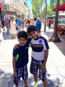 Rohan and Arjun, Paris 2015